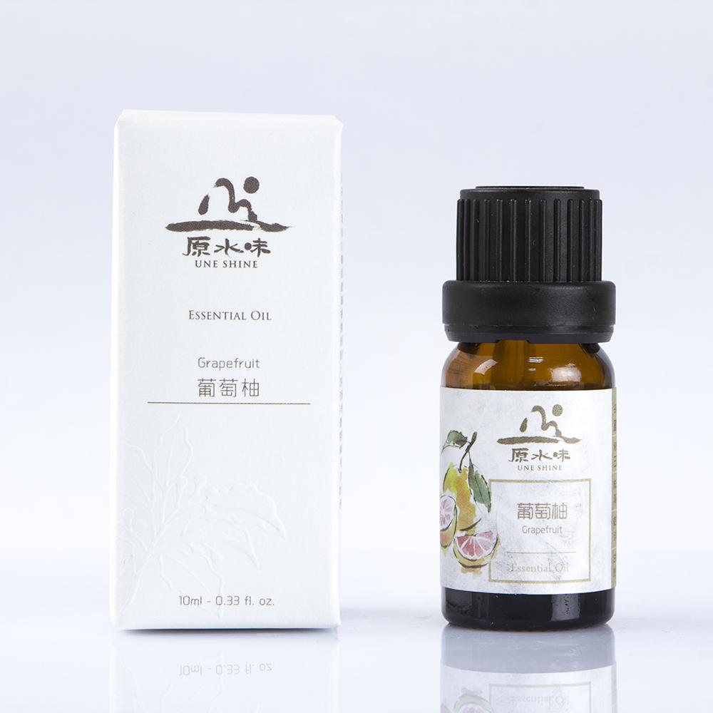 原水味葡萄柚精油10ml香熏单方精油肌肤紧致泡澡舒缓压力