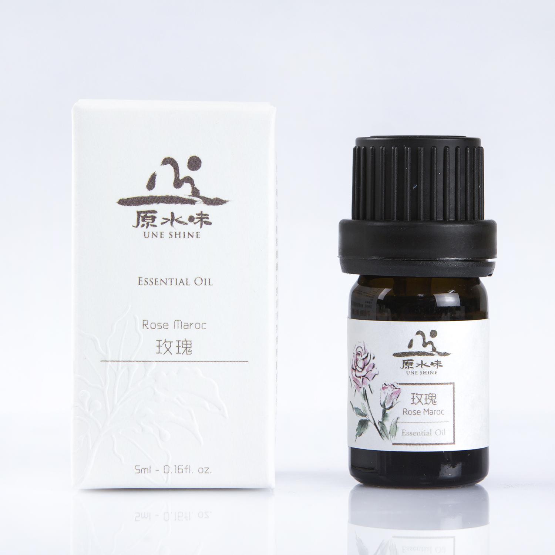 原水味玫瑰精油5ml植物滋养香薰护肤泡澡单方精油